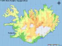 Location in Iceland