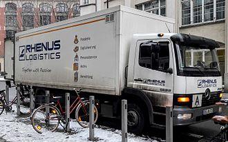 Rhenus (company) - Rhenus Logistics Mercedes-Benz Atego in Berlin