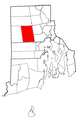 Rhode Island Municipalities Scituate Highlighted.png