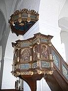 Ribe St.Katharina - Kanzel Gesamt