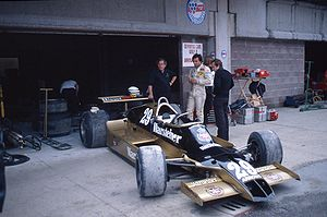 Riccardo Patrese - Patrese in the Arrows A1 at the 1979 Dino Ferrari Grand Prix.
