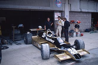 Riccardo Patrese - Patrese in the Arrows A1 at the 1979 Dino Ferrari Grand Prix.
