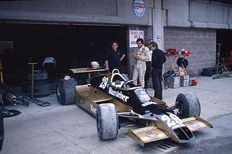 Arrows A1 - Image: Riccardo Patrese 1979 Imola