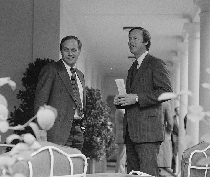 File:Richard Cheney with another member of the Ford administration staff at the White House.jpg