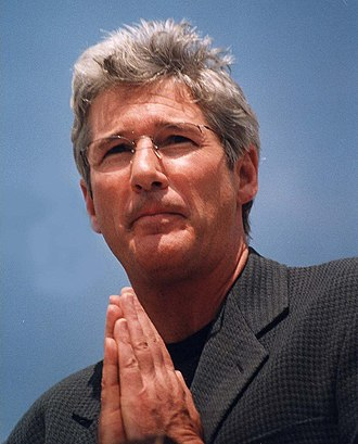 Richard Gere - Gere speaking about the Dalai Lama in 2000