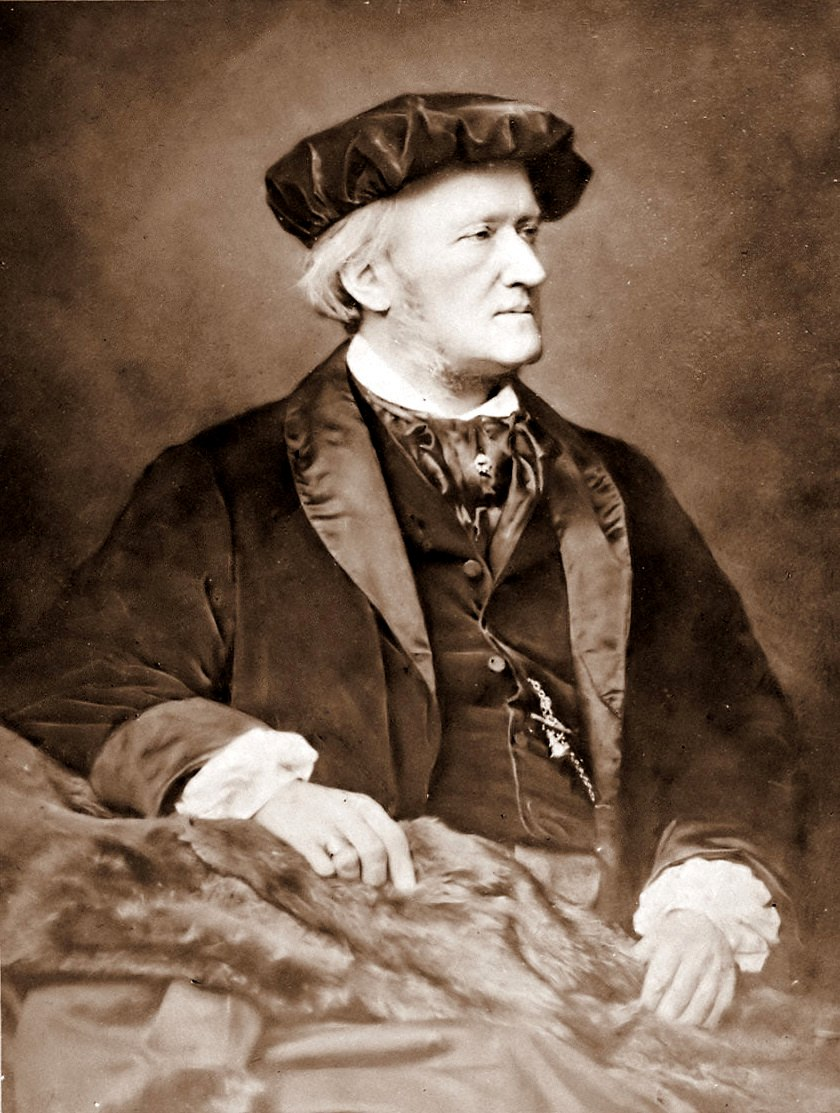 Richard Wagner by Franz Hanfstaengl, 1870-83