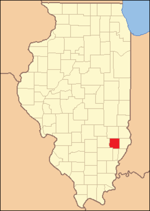 Richland County, Illinois - Image: Richland County Illinois 1841