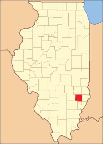 Richland County, Illinois - Image: Richland County Illinois 1841