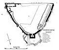 Richmond Castle plan, Clark.jpg