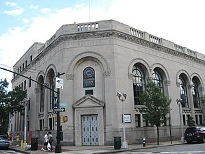 Ridgewood, Queens - Ridgewood Savings Bank headquarters since 1929, located in Ridgewood, Queens