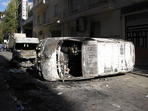 Greek government-debt crisis - 2008 riots in Athens