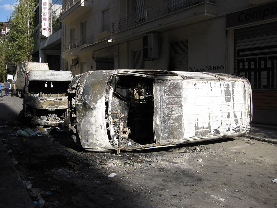 Riots in Athens 15