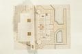 Ritning på den planerade sjögården vid Skoklosters slott, 1669 - Skoklosters slott - 98132.tif