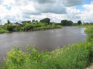 Om River - Om River in Kuybyshev