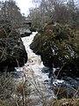 River Farigaig falls at Torness - geograph.org.uk - 1184603.jpg