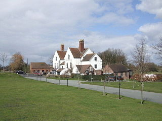 Cound Human settlement in England