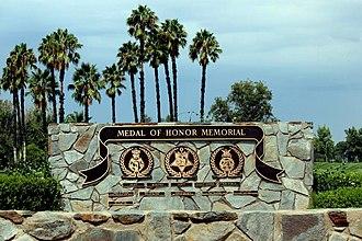Riverside National Cemetery - Riverside National Cemetery Medal of Honor Memorial