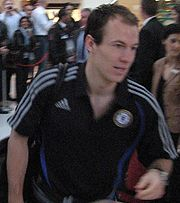 Robben on the road with Chelsea for the Champions League