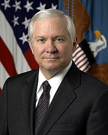 Portrait officiel de Robert Gates, en 2006.