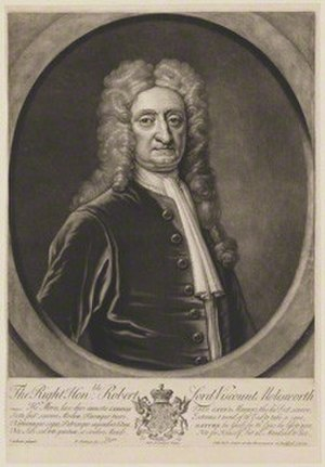 Robert Molesworth, 1st Viscount Molesworth - Image: Robert Molesworth, 1st Viscount Molesworth
