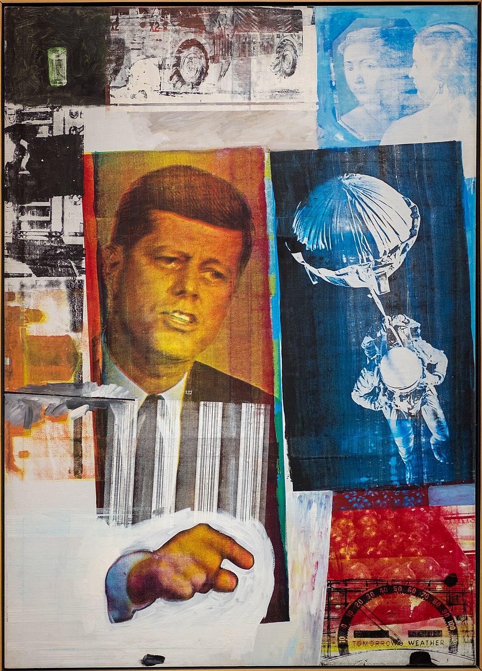Robert Rauschenberg, Retroactive II, 1963 1 26 18 -mcachicago (38559559950)