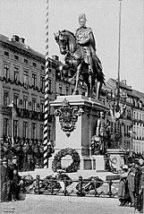equestrian statue of Wilhelm I