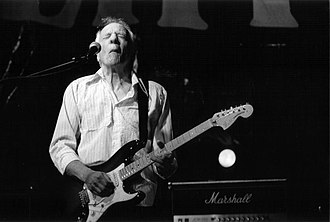 Robin Trower - Trower at the Liri Blues Festival, Italy, in 2005