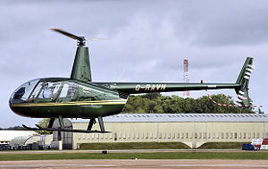 Robinson R44 - R44 Raven at RIAT 2008