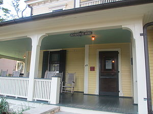 "Thomas Wolfe House - Front porch of Wolfe's ""Old Kentucky Home"""