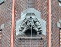 Roepende figuur spuwer Lambertus Zijl Kerkplein Den Haag.jpg