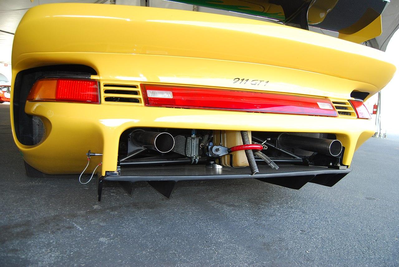 file rohr 1996 porsche 911 gt1 993 diffuser engine vent breather hoses exhaust tow loop air jack. Black Bedroom Furniture Sets. Home Design Ideas