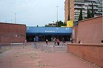 Roma Metropolitana B - Stazione Rebibbia 01.JPG