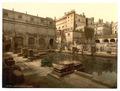 Roman Baths and Abbey, Bath, England-LCCN2002696367.tif