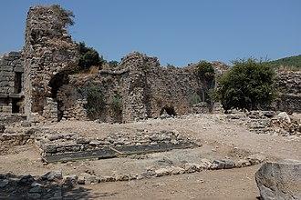 Kaunos - Roman baths