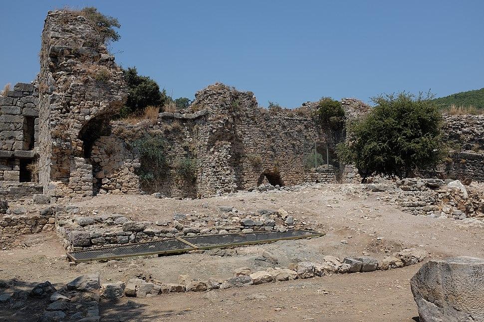 Roman baths of Kaunos AvL