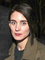 Rooney Mara Rooney Mara at The Discovery premiere during day 2 of the 2017 Sundance Film Festival at Eccles Center Theatre on January 20, 2017 in Park City, Utah (32088061480) (cropped).jpg