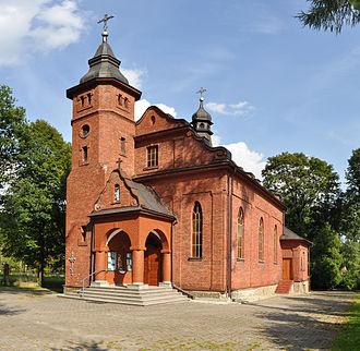Ropienka - Church in Ropienka