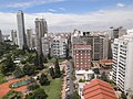 Rosario skyline viewed from the National Flag Memorial, Argentina.jpg