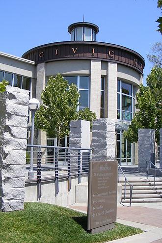 Roseville, California - Roseville's Civic Center.