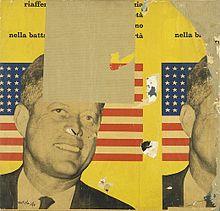 Mimmo Rotella, Viva America, 1963, collezione privata