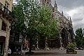 Rouen - Place Barthélemy - View ESE on Église Saint Maclou.jpg