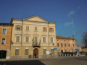 Roverbella - Image: Roverbella Municipio
