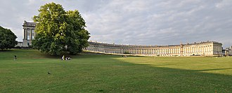 1774 in architecture - Image: Royal Crescent, bath. John Wood the Younger, 1767 1774