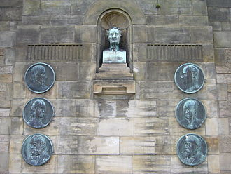 Royal Edinburgh Hospital - Memorial in the grounds of the hospital