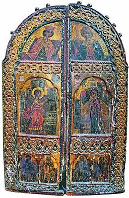 Royal doors from Saint Demetrius Church in Buchin.jpg