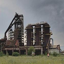 Ruda Śląska A blast furnace 2019.jpg
