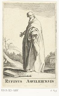 Tyrannius Rufinus monk, historian, and theologian