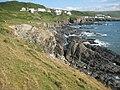 Rugged coast north of Woolacombe - geograph.org.uk - 1444134.jpg