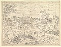 Ruins of the Imperial Palaces in Rome MET DP819695.jpg