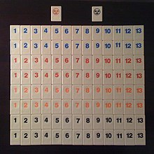 rules for rummy tile game